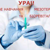 """17-18.11.17 ГОДА - """"базовое обучение мезотерапии И биоревитализации"""""""